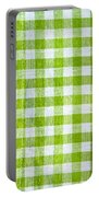 Gingham Portable Battery Charger