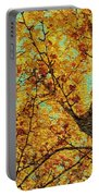 Ginkgo Tree  Portable Battery Charger