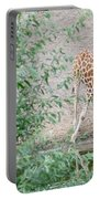 Giraffe Drinking Portable Battery Charger