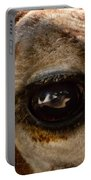 Giraffe Look Into My Eye Portable Battery Charger