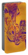 Giraffe Love Portable Battery Charger by Jane Schnetlage