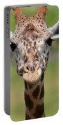 Giraffe Peek A Boo Poster Portable Battery Charger