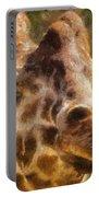 Giraffe Photo Art 01 Portable Battery Charger