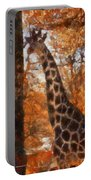 Giraffe Photo Art 03 Portable Battery Charger