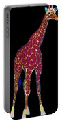 Giraffe Pop Art Portable Battery Charger