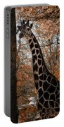 Giraffe Posing Portable Battery Charger