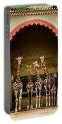Giraffes Lineup Portable Battery Charger