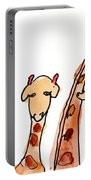 Giraffes Portable Battery Charger