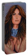 Gisele Bundchen Painting Portable Battery Charger
