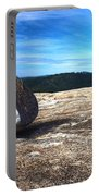 Glacial Erratic On Bald Rock Dome Portable Battery Charger
