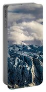 Glacier In The Clouds Portable Battery Charger