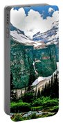 Glaciers Along Plain Of Six Glaciers Trail In Banff Np-alberta Portable Battery Charger
