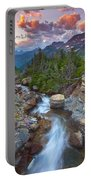 Glaciers Wild Portable Battery Charger by Darren  White