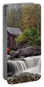 Glade Creek Waterfall Portable Battery Charger by Marcia Colelli