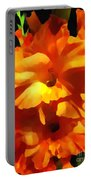 Gladiola Up Close Impression Portable Battery Charger