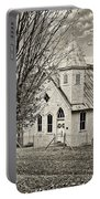 Glady Presbyterian Sepia Portable Battery Charger