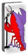 Glam Rock Lobster Or Harleguin Lobster Portable Battery Charger