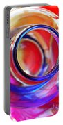 Glass Abstract 592 Portable Battery Charger