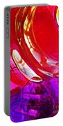Glass Abstract 607 Portable Battery Charger
