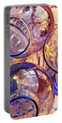 Glass Abstract 620 Portable Battery Charger