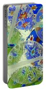 Glass Beads Abstract Portable Battery Charger