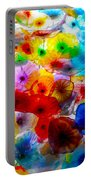 Glass Flowers Portable Battery Charger