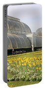 Glass House At Kew Gardens London Portable Battery Charger