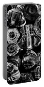 Glass Knobs - Bw Portable Battery Charger