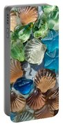 Glass Seashell Portable Battery Charger