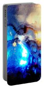 Glass Vase Abstract Portable Battery Charger