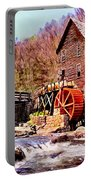 Glen Creek Grist Mill Painting Portable Battery Charger