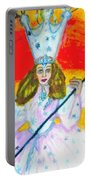 Glenda The Good Witch Of Oz Portable Battery Charger