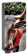 Glitter Bull Portable Battery Charger by Emily Kay