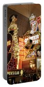 Glitter Gulch In Las Vegas Portable Battery Charger