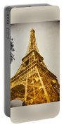 Glittery Paris Portable Battery Charger