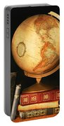 Globe And Books Portable Battery Charger