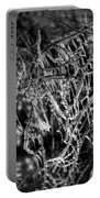 Gloomy Icy Tree Portable Battery Charger