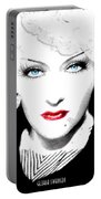 Gloria Swanson - Marlene Dietrich Portable Battery Charger