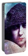 Gloria Swanson Oil Portable Battery Charger