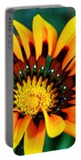 Glorious Day Yellow Flower By Diana Sainz Portable Battery Charger