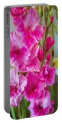 Glorious Gladiolus Portable Battery Charger