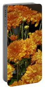 Glorious Golden Mums Portable Battery Charger