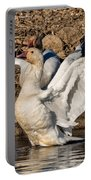 Glorious Snow Goose Portable Battery Charger