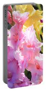 Glorious Summer Gladiolus Portable Battery Charger