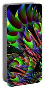 Glow In The Dark Abstract Portable Battery Charger