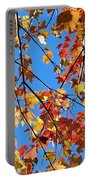 Glowing Autumn Portable Battery Charger