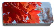 Glowing Fall Maple Colors 4 Portable Battery Charger