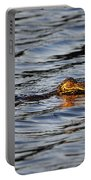 Glowing Gator Portable Battery Charger