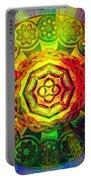 Glowing Mandala Portable Battery Charger