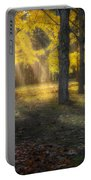 Glowing Maples Square Portable Battery Charger